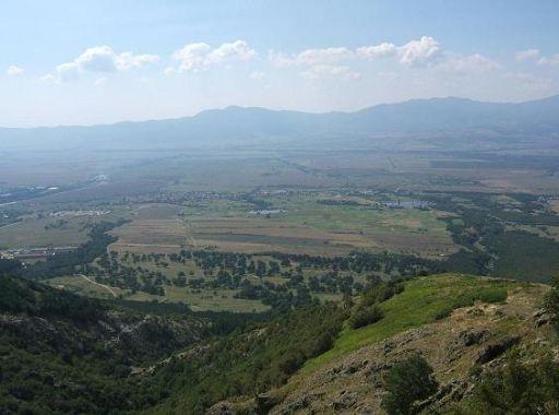 панорама от Аневско кале
