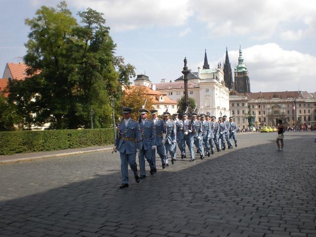 военен парад в прага