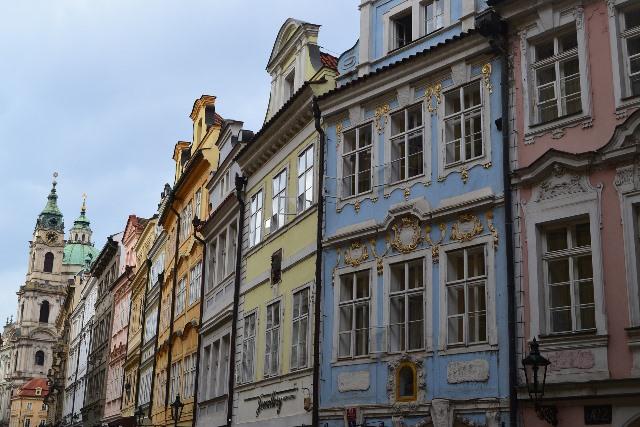 цветните къщи на Прага