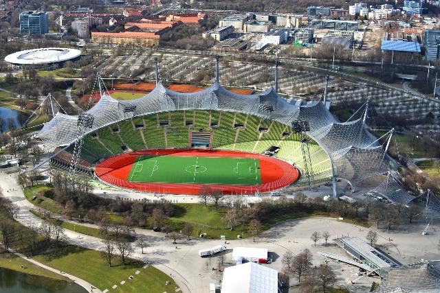 olimpiiskiq stadion munhen